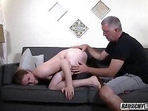Straight Curious Teen Gets Barebacked By Older Creeper